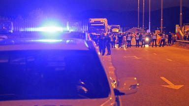 """Тежка катастрофа на АМ """"Тракия"""": Кола влезе в насрещното  и удари друга"""