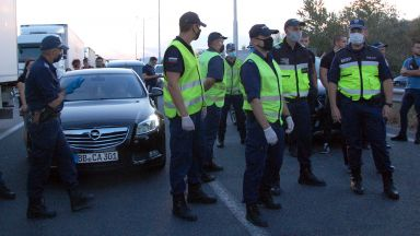 Шофьор се сби с протестиращ на блокадата до Капитан Андреево