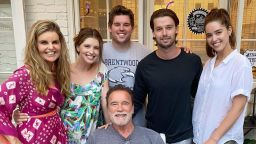 Семейство Шварценегер отново заедно за рождения ден на Арнолд