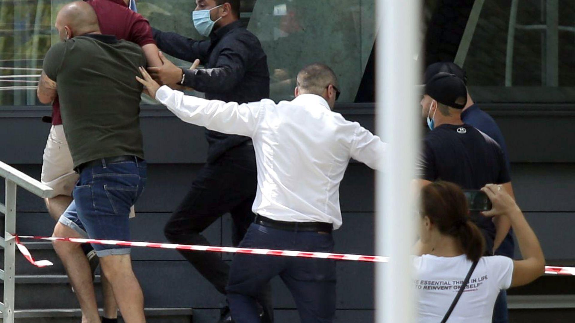 Задържани са мъжете, провокирали напрежение на конференцията на ГЕРБ