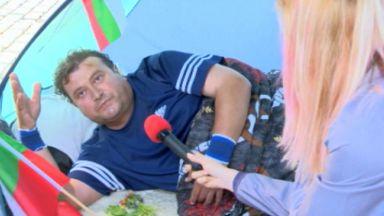 Обявилият гладна стачка напусна сам болницата, нямал осигуровки от 5 г.