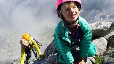 7-годишна покори сама връх в Алпите: Беше забавно, но и страшно