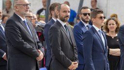 """25 г. от операция """"Буря"""": сърбинът вицепремиер на Хърватия присъства на церемонията"""