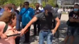 Задържан от конференцията на ГЕРБ признал, че са му обещани пари срещу провокации