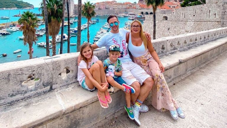 Лятото отведе семейство Джаферович в красивия Дубровник