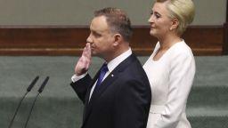 Анджей Дуда положи клетва като президент на Полша за втори мандат