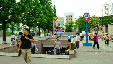 Търговията между Китай и Северна Корея се стопи
