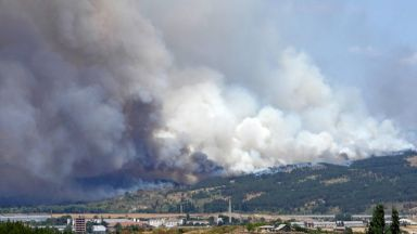 "Затвориха магистрала ""Марица"" заради задимяване от пожара в Харманлийско"