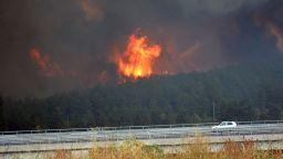 Обявиха бедствено положение в Хасковско заради големи пожари