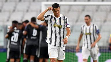 Само Роналдо не стига! Европейските мечти на Юве угаснаха рано