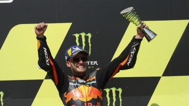 Южноафриканец изненада в Moto GP с дебютна победа