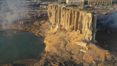 ЕК дава 66 млн. евро в помощ на Бейрут, 43-метров кратер е останал след взрива