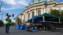 32-ри ден на протести: В София остават блокирани три възлови кръстовища (обновена)