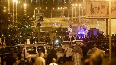 Правозащитници твърдят, че полицейска кола е убила протестиращ в Минск, властта отрича
