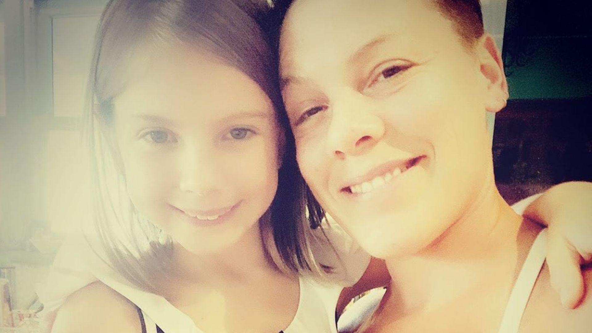 Дъщерята на Пинк се подстрига като нея