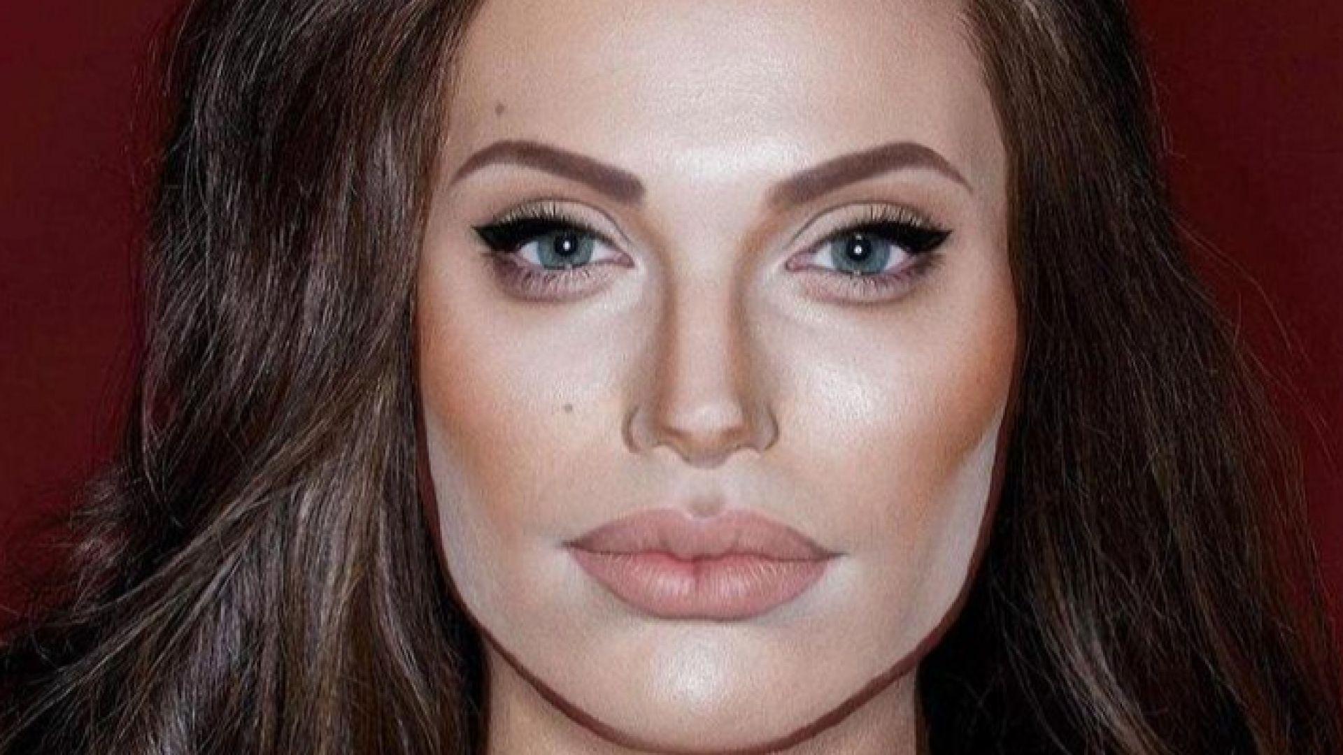 Творецът, който може да се превърне във всяка знаменитост - от Анджелина Джоли до Лейди Ди