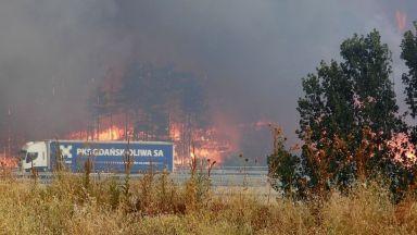 Предимно слънчево и горещо, остава опасността от пожари