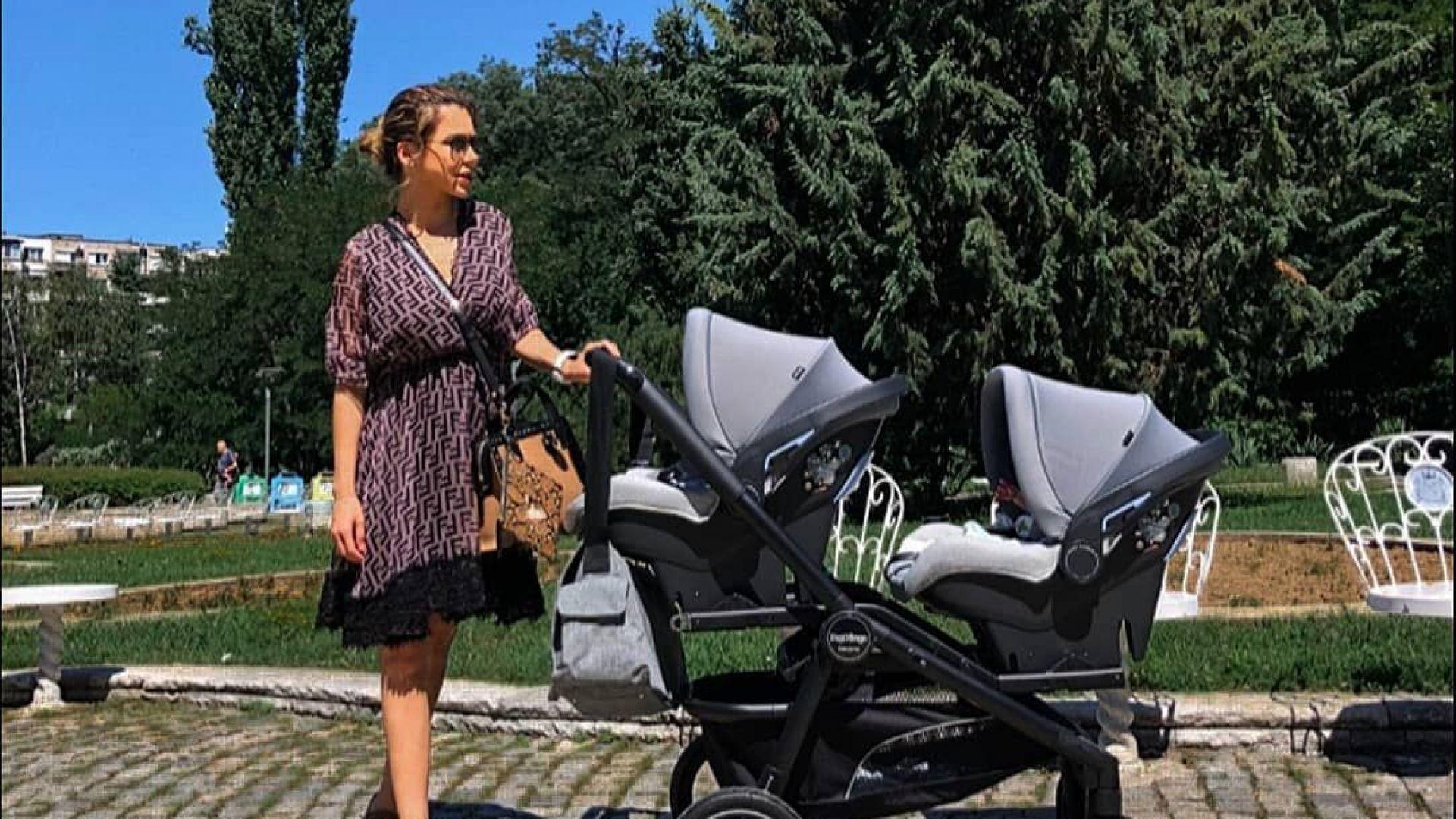 Ася Капчикова разкри пола на близнаците, но не и бащата