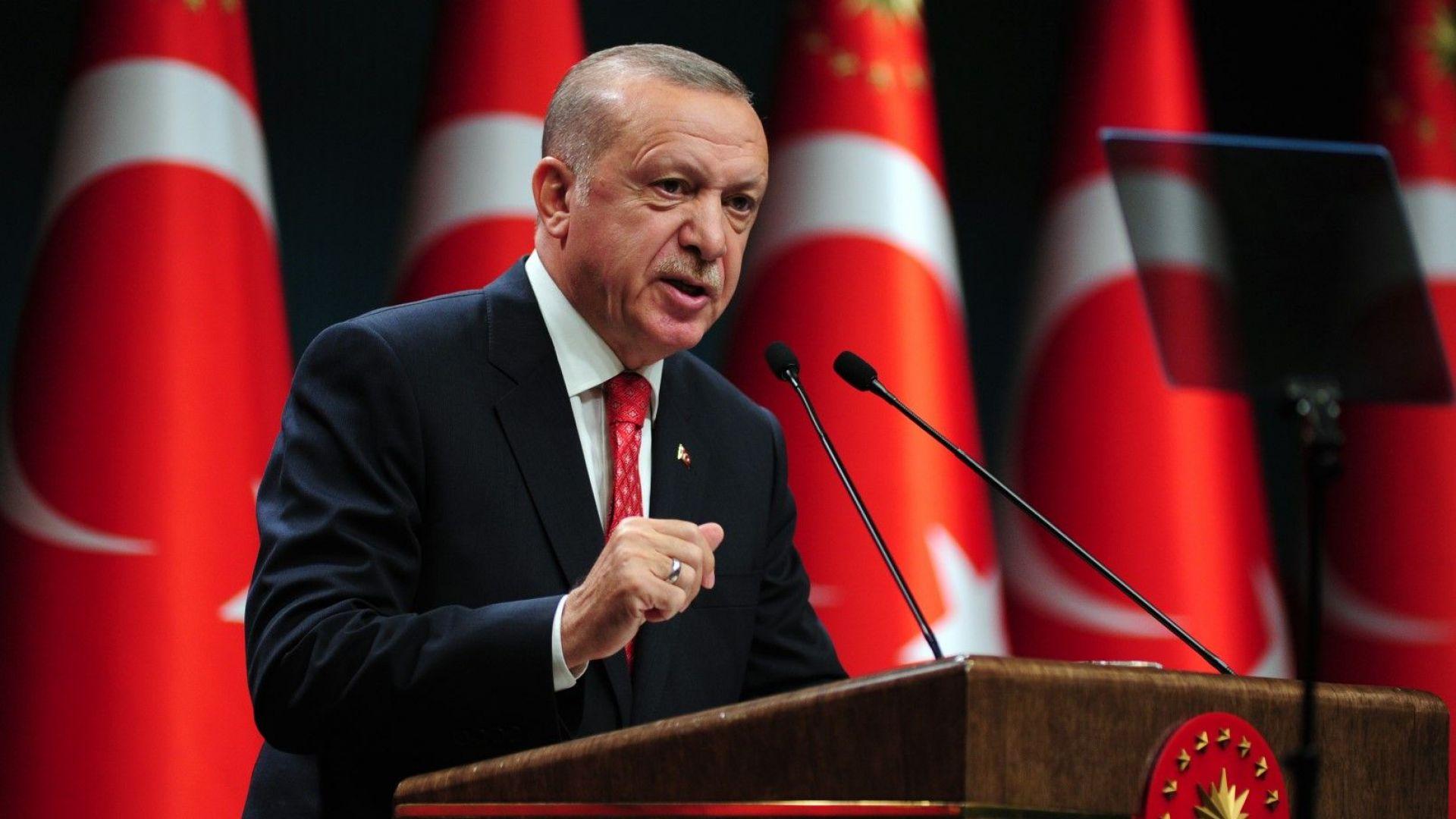Ердоган смени шефа на турската централна банка