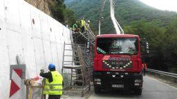 Спират ремонта по пътя за Рилския манастир заради Голяма Богородица