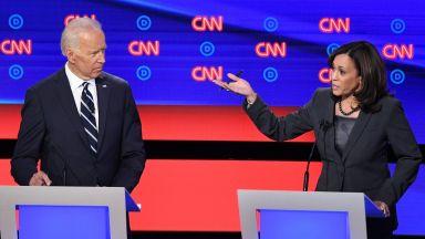 Байдън събра рекордните $26 млн. след избора на Камала Харис за кандидат-вицепрезидент
