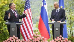 Помпейо в Словения: Зависимостта на Европа от руската енергия застрашава САЩ