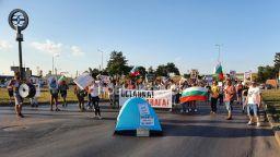 """36-ти ден на протести в страната, блокираха ГКПП  """"Дунав мост"""""""