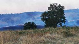 Нов пожар в Хасковско - пламна широколистна гора