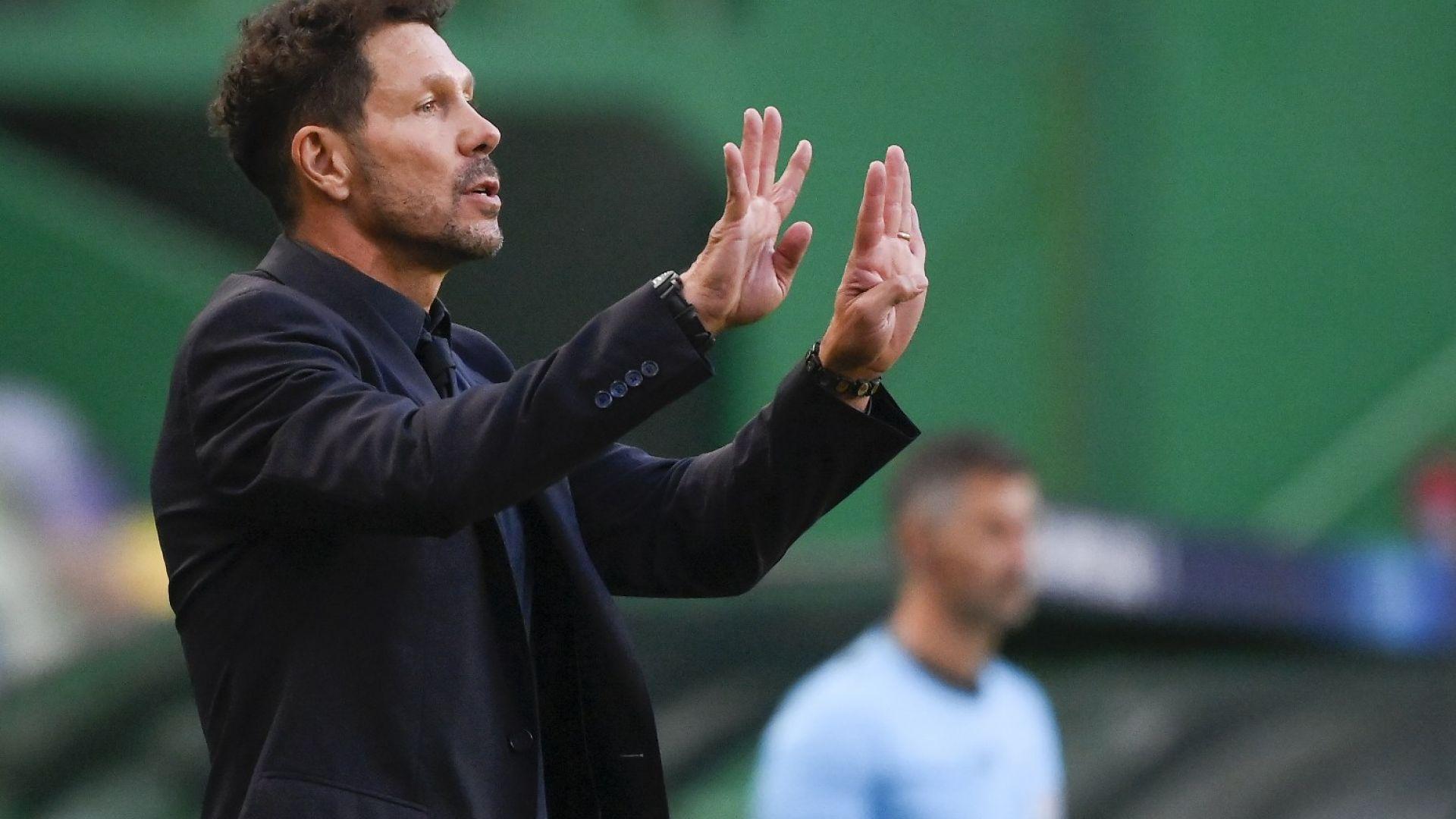 Диего Симеоне подписа нов договор начело на Атлетико