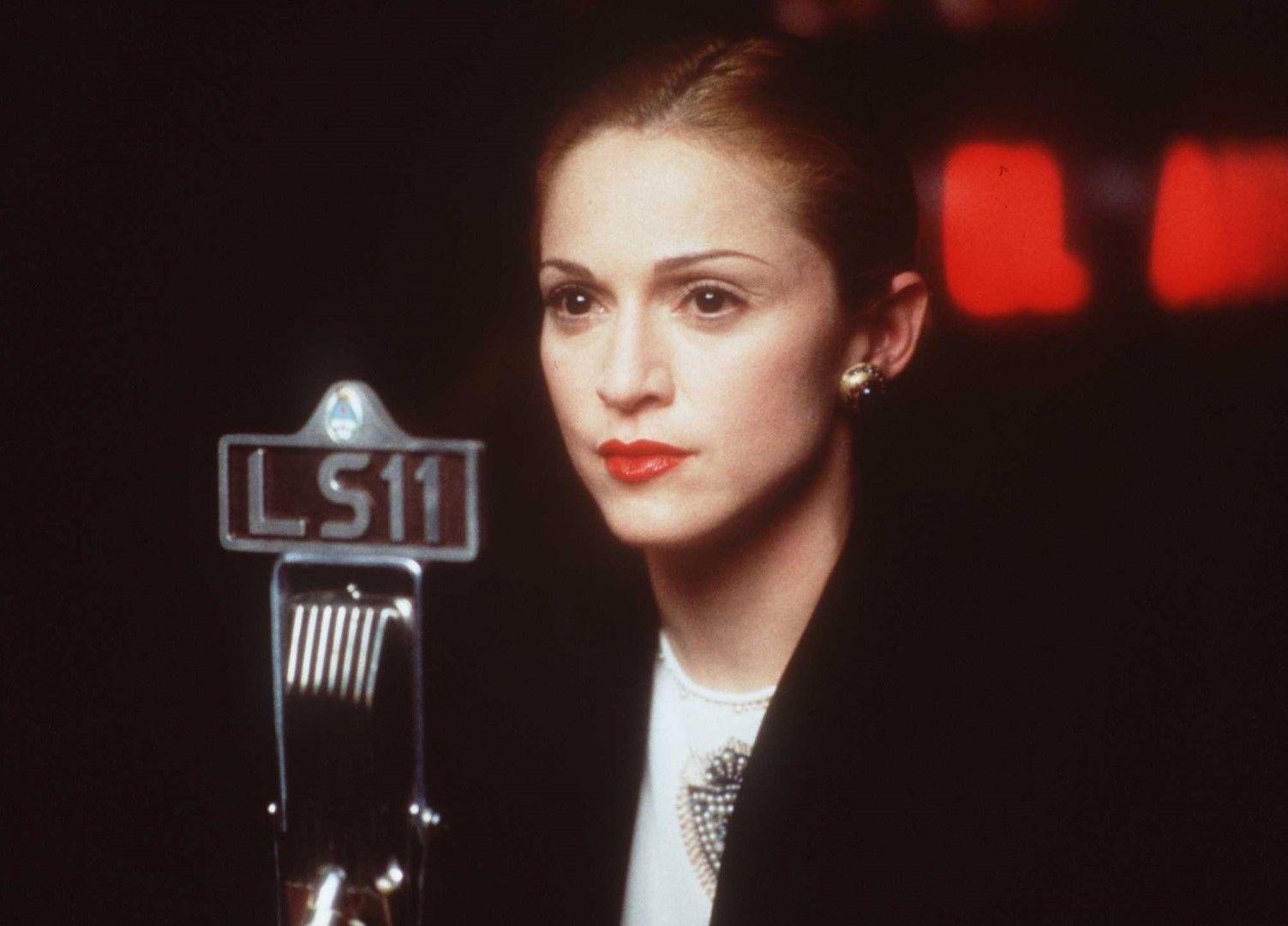 """Мадона във филма """"Евита"""", 1997 г."""
