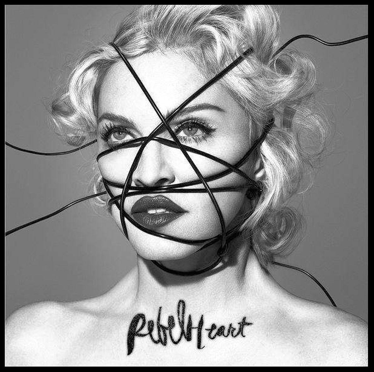 Обложката на албума Rebel Heart