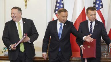 Полша ще разчита на 5500 американски военни след ново споразумение със САЩ