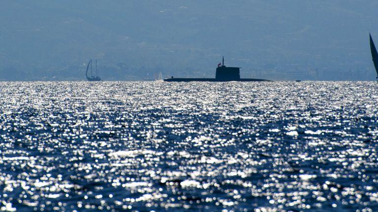 Турска подводница се е приближила до нос Сунион в столичната