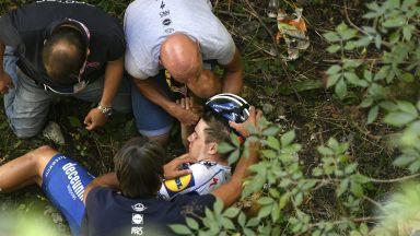 Нов кошмарен инцидент в колоезденето, млада звезда падна в пропаст (Видео)