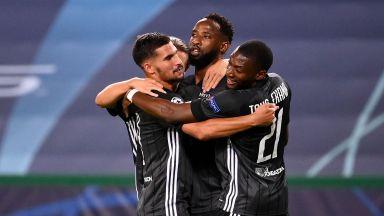 """Нов шок в Шампионската лига - Лион изхвърли """"гипсирания"""" Сити на Гуардиола"""