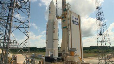 "Ракетата ""Ариана 5"" успешно беше изстреляна от Френска Гвиана"