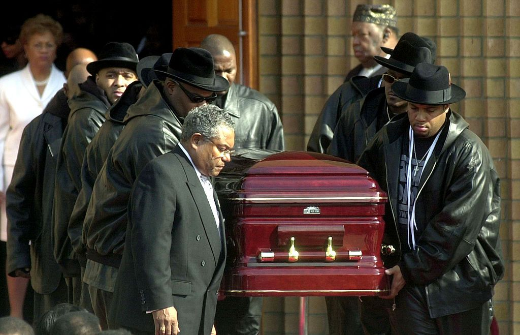 Погребението на Джем Мастър Джей