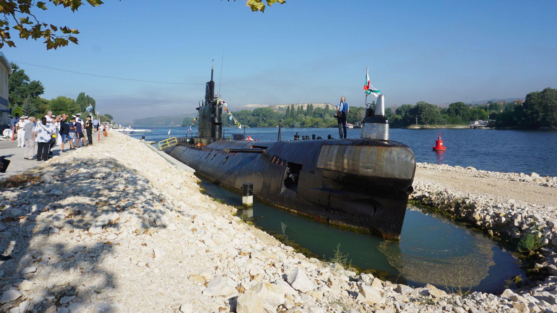 Последната българска подводница вече работи като музей