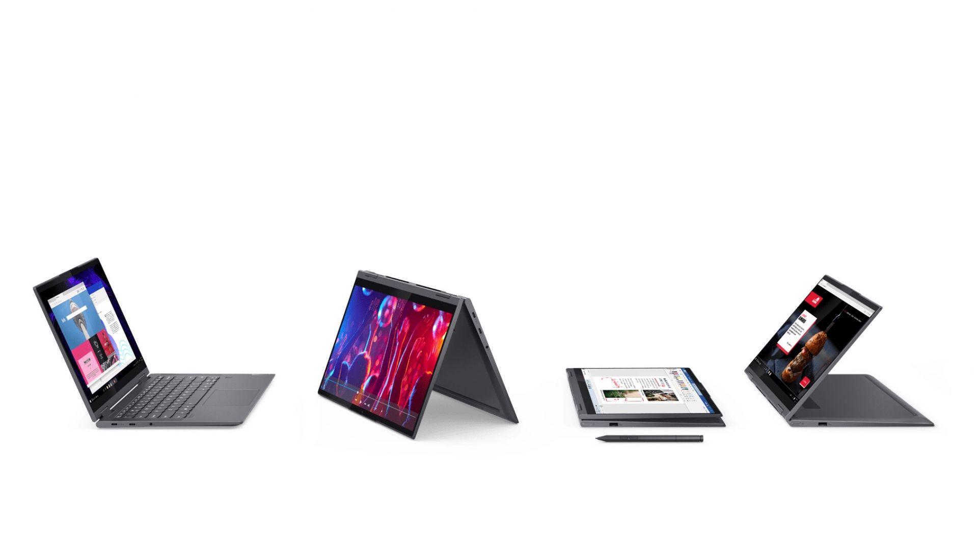 Lenovo представи 5 нови лаптопа Yoga