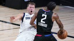 Дончич поведе Далас към победа въпреки мощта на Кауай Ленард