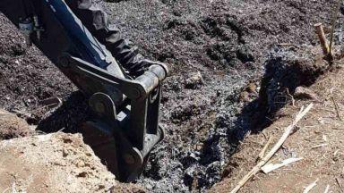 210 тона опасен отпадък, свързан с Бобокови, е загробен в село Рупци (снимки)