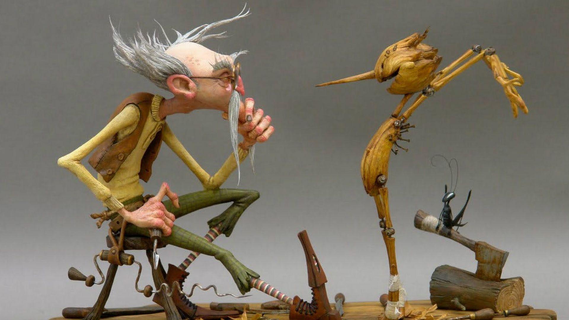 """Кои са актьорите, които ще озвучават """"Пинокио"""" на Гийермо Дел Торо"""