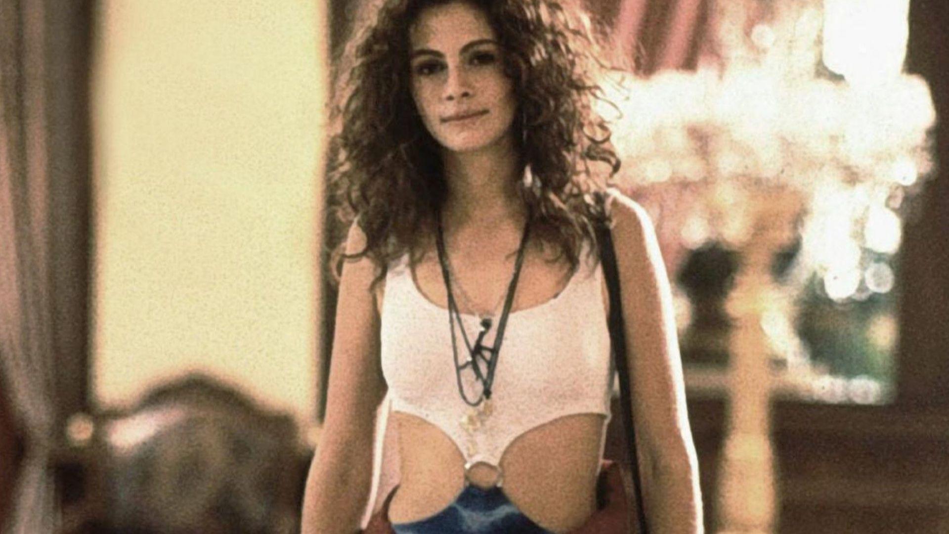 """""""Хубава жена"""": историята зад ултра-секси роклята на Джулия Робъртс"""