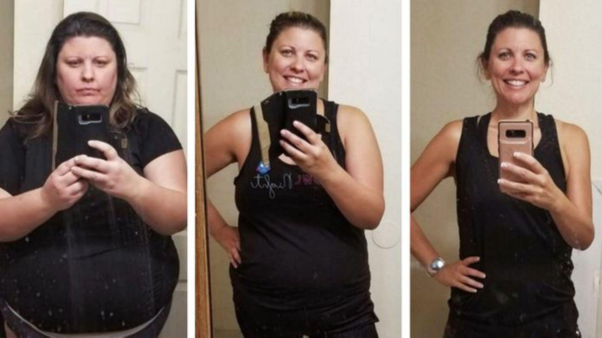 18 удивителни трансформации на хора, преборили наднорменото тегло