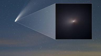 """НАСА показа уникална снимка на кометата NEOWISE от телескопа """"Хъбъл"""""""