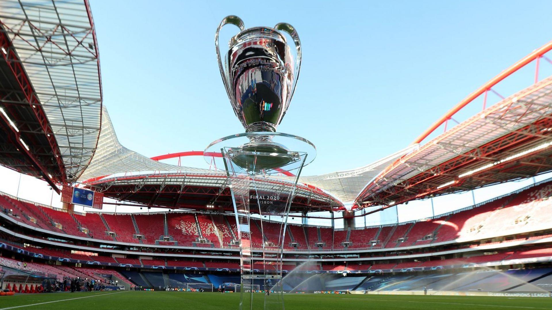 За втора поредна година финалът на Шампионската лига ще е в Португалия