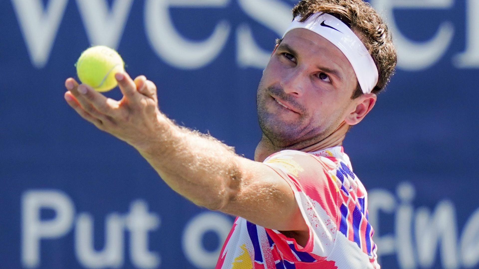 Григор се свлече с позиция преди началото на US Open