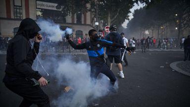 Тежка нощ със 148 ареста в Париж, купон по улиците на Марсилия след финала (Снимки)