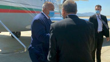 Борисов пристигна в Атина, с Мицотакис обсъждат газовата връзка, двете страни стават основен енергиен хъб