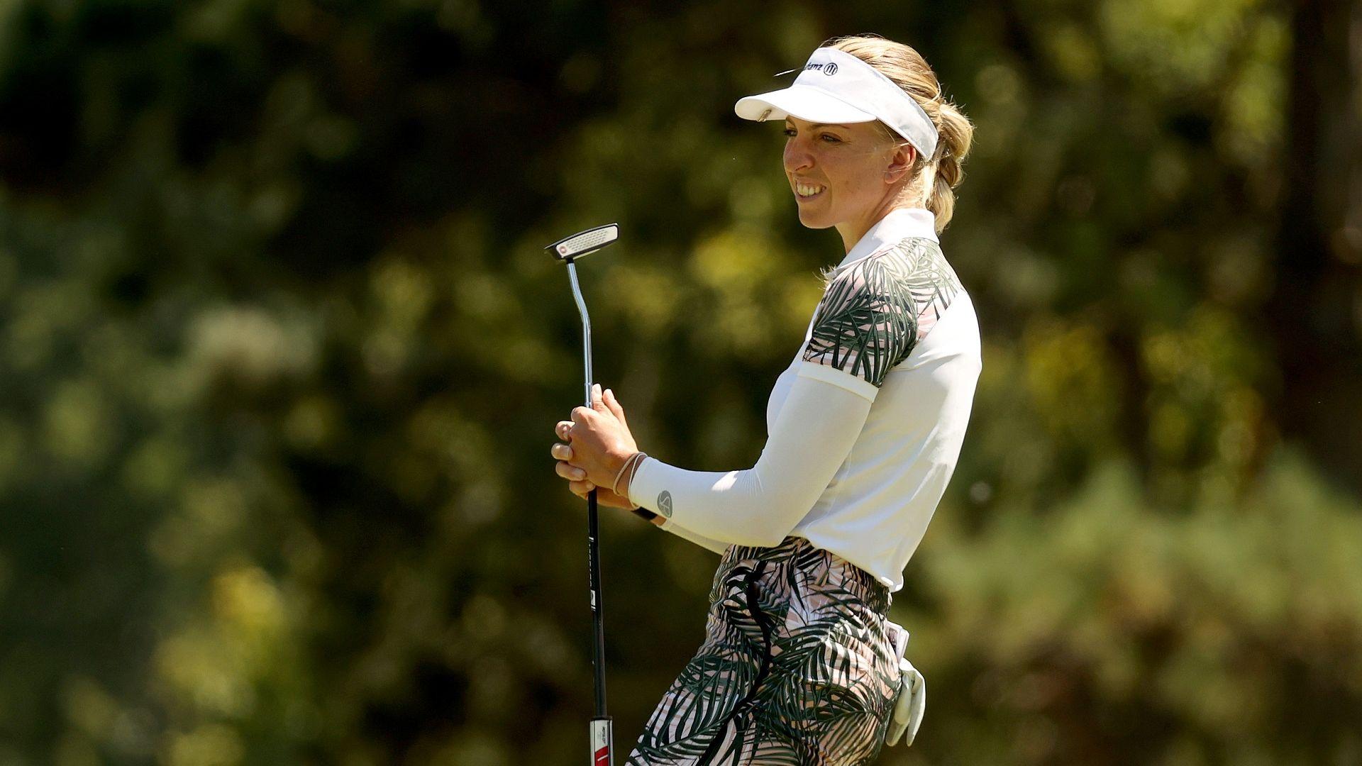 Американка с български корени сътвори най-голямата сензация в женския голф